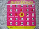 This auto bingo board may be the only travel game that has survived the years. My family enjoyed spotting silos, tractors, etc. - especially on our drives through the country to DeRidder, LA, where my grandparents lived.